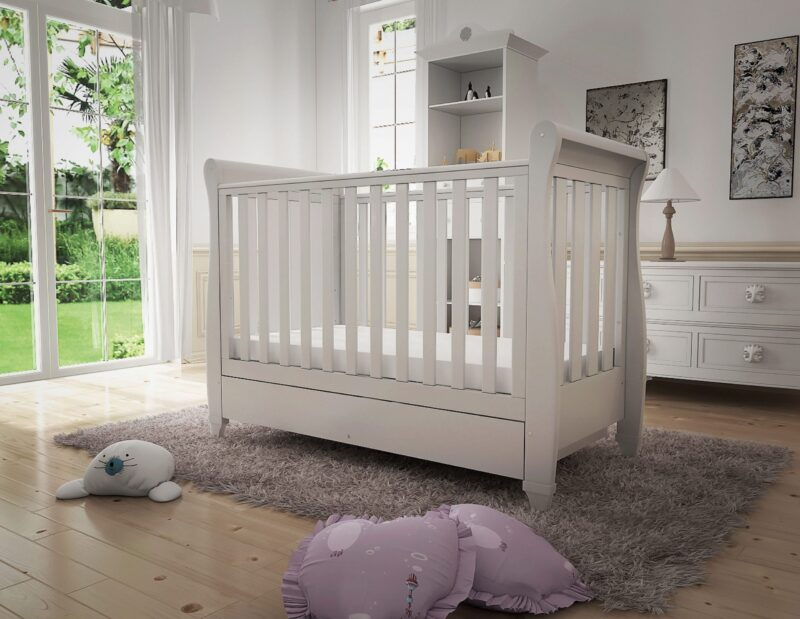 Nursery Furniture Cot bed with drawer