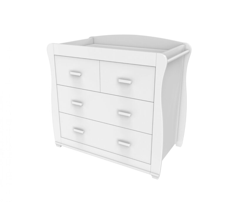 Nursery Furniture chest of drawers changer