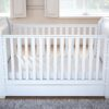 Bel sleigh cot bed drop side with drawer front