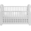 Bel sleigh cot bed drop side with drawer front drop side down