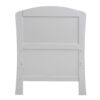 aston drop side cot bed grey end