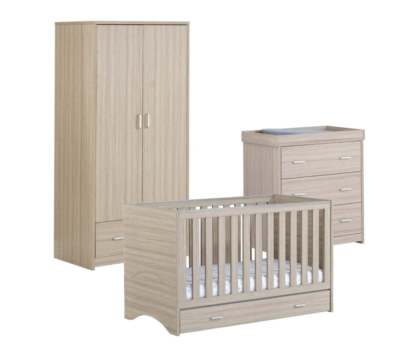 Veni 3 pieces room set with drawer