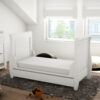 stella sleigh cot bed convert to bed